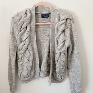 LINE The Label Chunky Knit Cardigan
